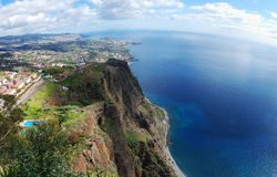 Ansicht von Cabo Girao Lizenzfreie Stockbilder
