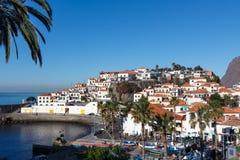 Ansicht von Camara de Lobos Lizenzfreie Stockfotos