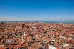 Ansicht von Campanile di San Marco stockfoto