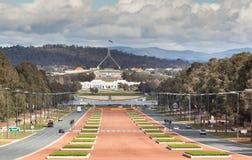 Ansicht von Canberra Stockfotos