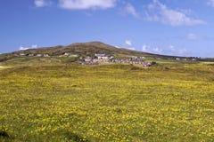 Ansicht von Cannawee-Dorf stockbild