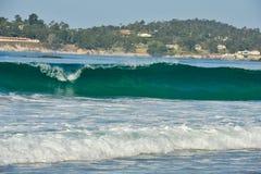 Ansicht von Carmel Beach, in Carmel, Kalifornien lizenzfreies stockfoto