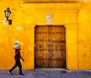 Ansicht von Cartagena kolumbien Stockfotos