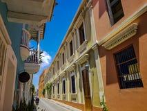 Ansicht von Cartagena kolumbien Lizenzfreies Stockbild