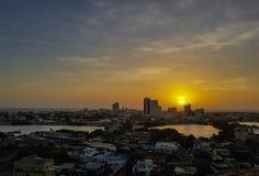Ansicht von Cartagena kolumbien Lizenzfreies Stockfoto