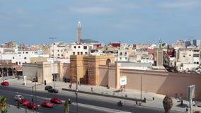 Ansicht von Casablanca, Marokko stock video
