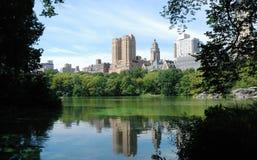 Ansicht von Central Park Lizenzfreies Stockbild