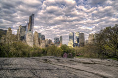 Ansicht von Central Park, New York City Stockbilder