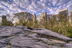 Ansicht von Central Park, New York City Stockfoto