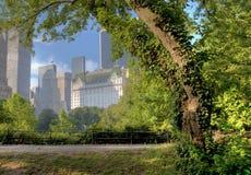Ansicht von Central Park Süd Lizenzfreies Stockfoto