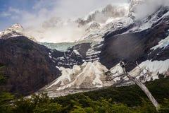 Ansicht von Cerro Paine groß von Valle-del Frances French Valle stockbild