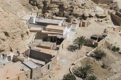 Ansicht von Chenini-Dorf Stockbilder