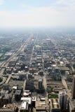Ansicht von Chicago Stockbild