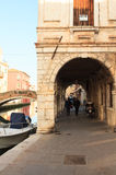 Ansicht von Chioggia, Italien Lizenzfreies Stockbild