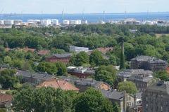 Ansicht von Christianshavn Stockbilder