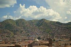 Ansicht von Cuzco Lizenzfreies Stockfoto