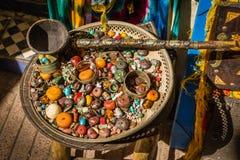 Ansicht von den Gassen von Essaouira Stockbild