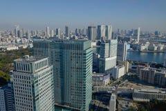 Ansicht von den Kaiserpalastgärten Lizenzfreies Stockfoto