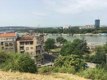 Ansicht von der Belgrad-Festung Stockfoto