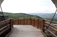 Ansicht von der Festung Stockbild
