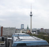 Ansicht von der Kathedrale von Berlin, Deutschland lizenzfreie stockfotos