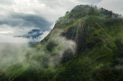 Ansicht von der kleinen des Adams Spitze, Sri Lanka Lizenzfreie Stockbilder