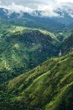 Ansicht von der kleinen des Adams Spitze, Sri Lanka Stockbilder