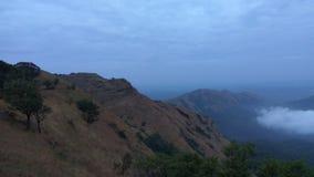 Ansicht von der Kodachadri-Trekkings-Spur lizenzfreie stockfotos