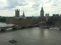 Ansicht von der London-Augenansicht stockbilder