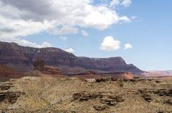 Ansicht von der Navajo-Brücke, Marmorschlucht Hwy 89 Lizenzfreie Stockfotografie