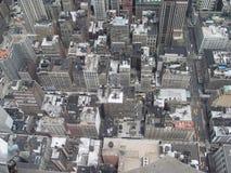 Ansicht von der Oberseite Stockfoto