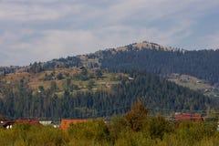 Ansicht von der Oberseite Stockfotos