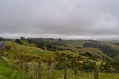 Ansicht von der Oberseite des Berges lizenzfreie stockbilder