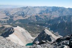 Ansicht von der Oberseite von Borah Stockbild