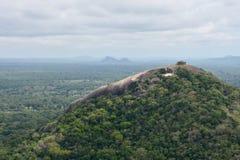 Ansicht von der Spitze Sigiriya Lizenzfreie Stockfotos