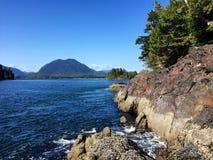 Ansicht von der Tonquin-Strand-Spur, Tofino, Britisch-Columbia, Kanada Lizenzfreie Stockfotos