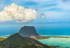 Ansicht von der Veranschaulichung mauritius lizenzfreie stockfotos