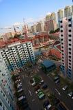 Ansicht von der Wohnung Stockfotografie