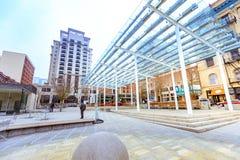 Ansicht von Direktoren Park in im Stadtzentrum gelegenem Portland, Oregon lizenzfreie stockfotografie