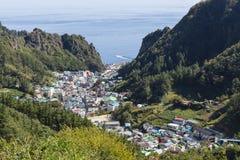 Ansicht von Dodong-ri Lizenzfreies Stockbild