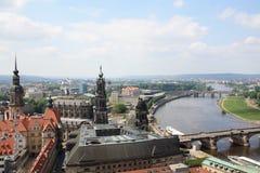 Ansicht von Dresden Lizenzfreies Stockbild