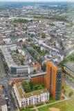 Ansicht von Dusseldorf lizenzfreies stockbild