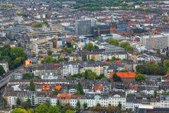 Ansicht von Dusseldorf stockfoto