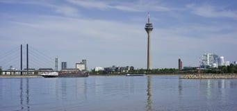Ansicht von Dusseldorf in Deutschland Lizenzfreies Stockfoto