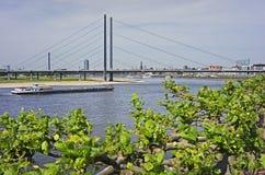 Ansicht von Dusseldorf in Deutschland Lizenzfreie Stockbilder