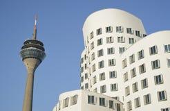 Ansicht von Dusseldorf in Deutschland Stockfotografie