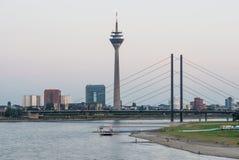 Ansicht von Dusseldorf in Deutschland Lizenzfreie Stockfotos