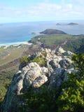 Ansicht von einem Ausblick Wilsons am Vorgebirge Stockfotografie