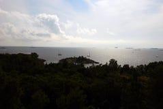 Ansicht von einem Berg Stockbilder