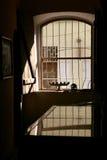 Ansicht von einem Fenster Stockfotografie
